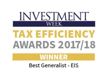 Best Generalist EIS Tax Efficiency Awards 2017/18