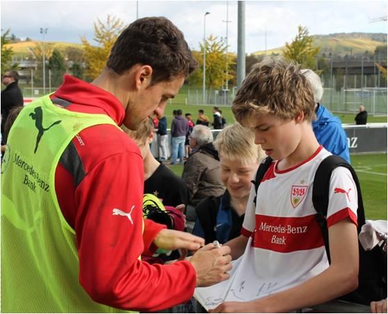 VFB player signing