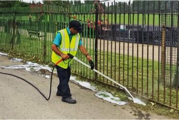 Weedingtech fence